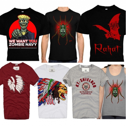 I will design a professionally Irresistible Teespring Tshirt