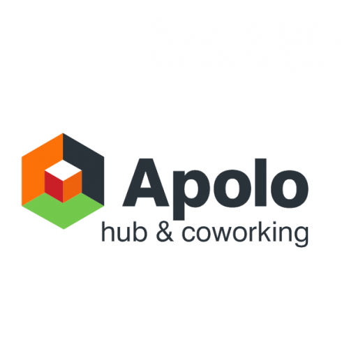 Apolo Hub and Coworking Logo