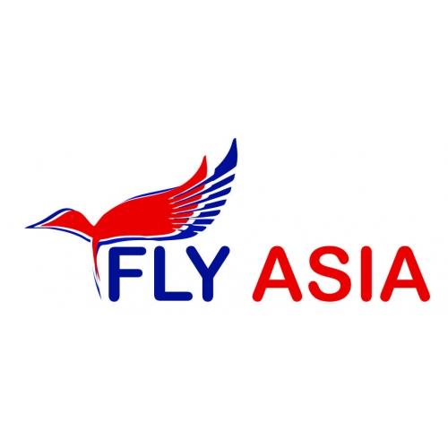 Fly Asia Logo Design