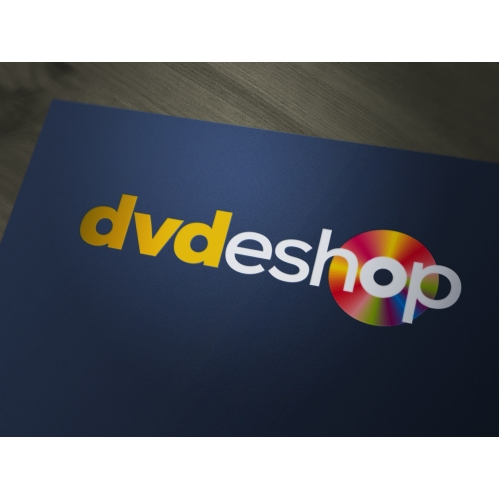 Logo for an Online Shop selling DVD discs
