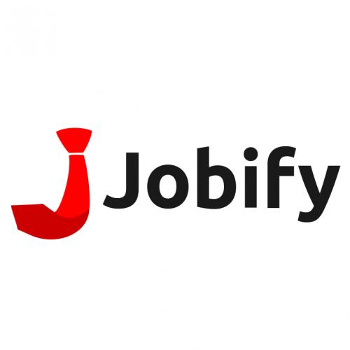 Jobify logo.