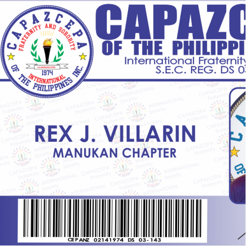Fraternity Membership ID Design