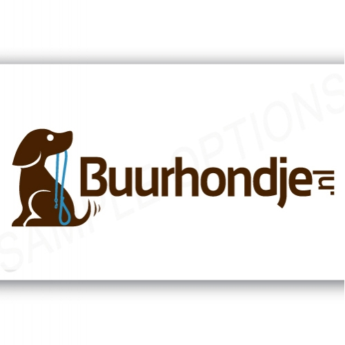 Selected Logo For  www.Buurhondje.nl  This is the clien