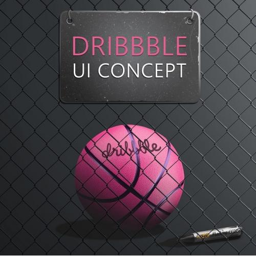 Dribbble App UI Concept