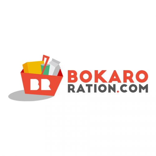 Bokaro Ration   Logo Design