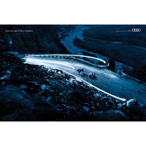 Audi xenon lights