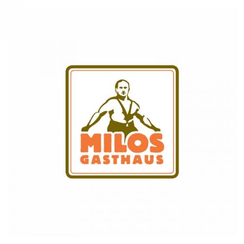 restaurant logo design Milos